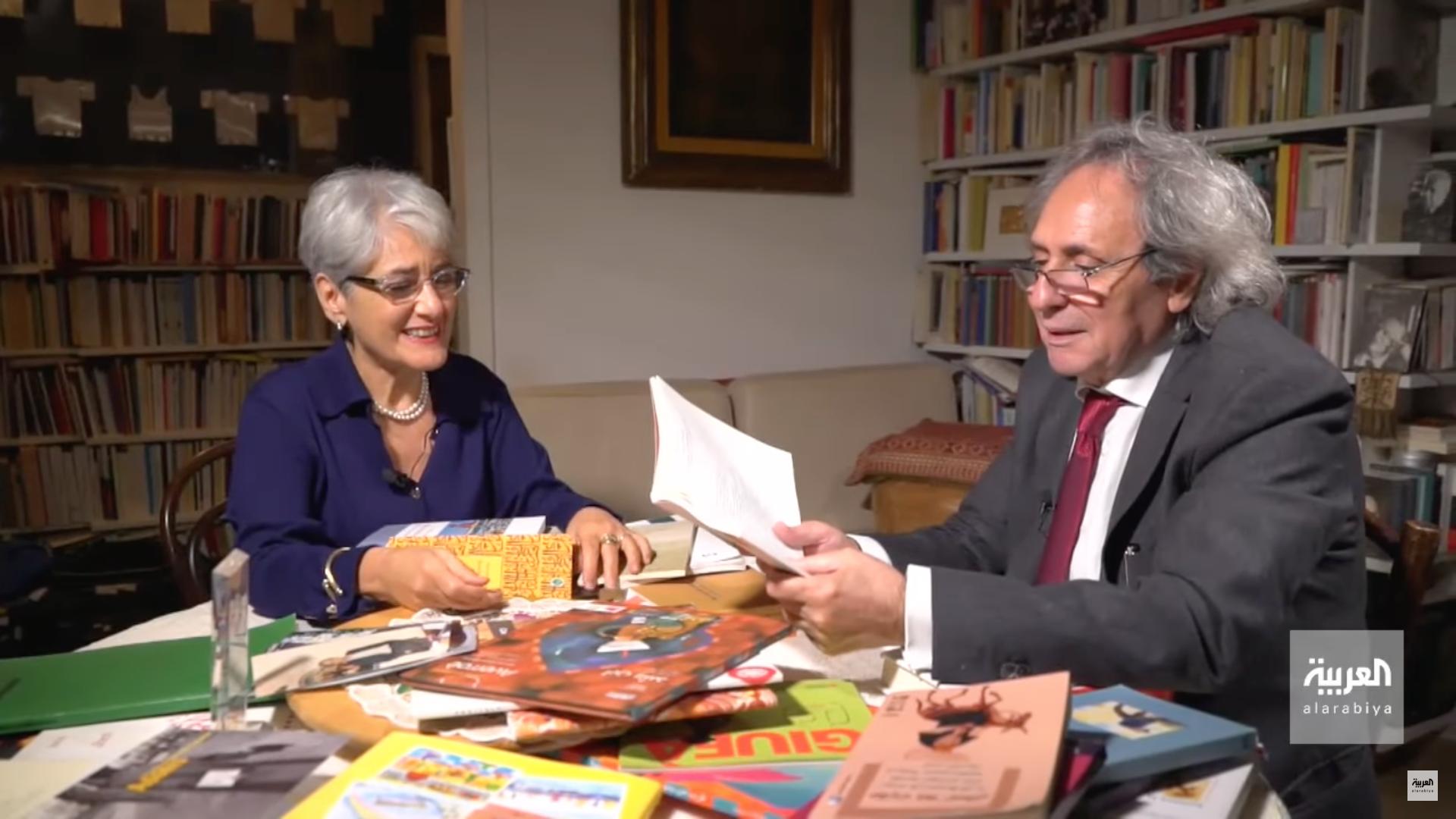 Intervista A Francesca Corrao Su Al Arabiya News Channel